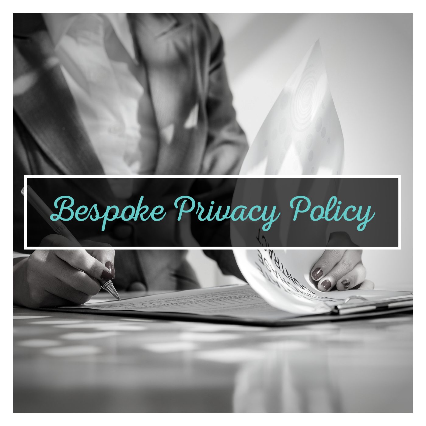 $575 plus GST - A bespoke Privacy Policy which suits your specific business.
