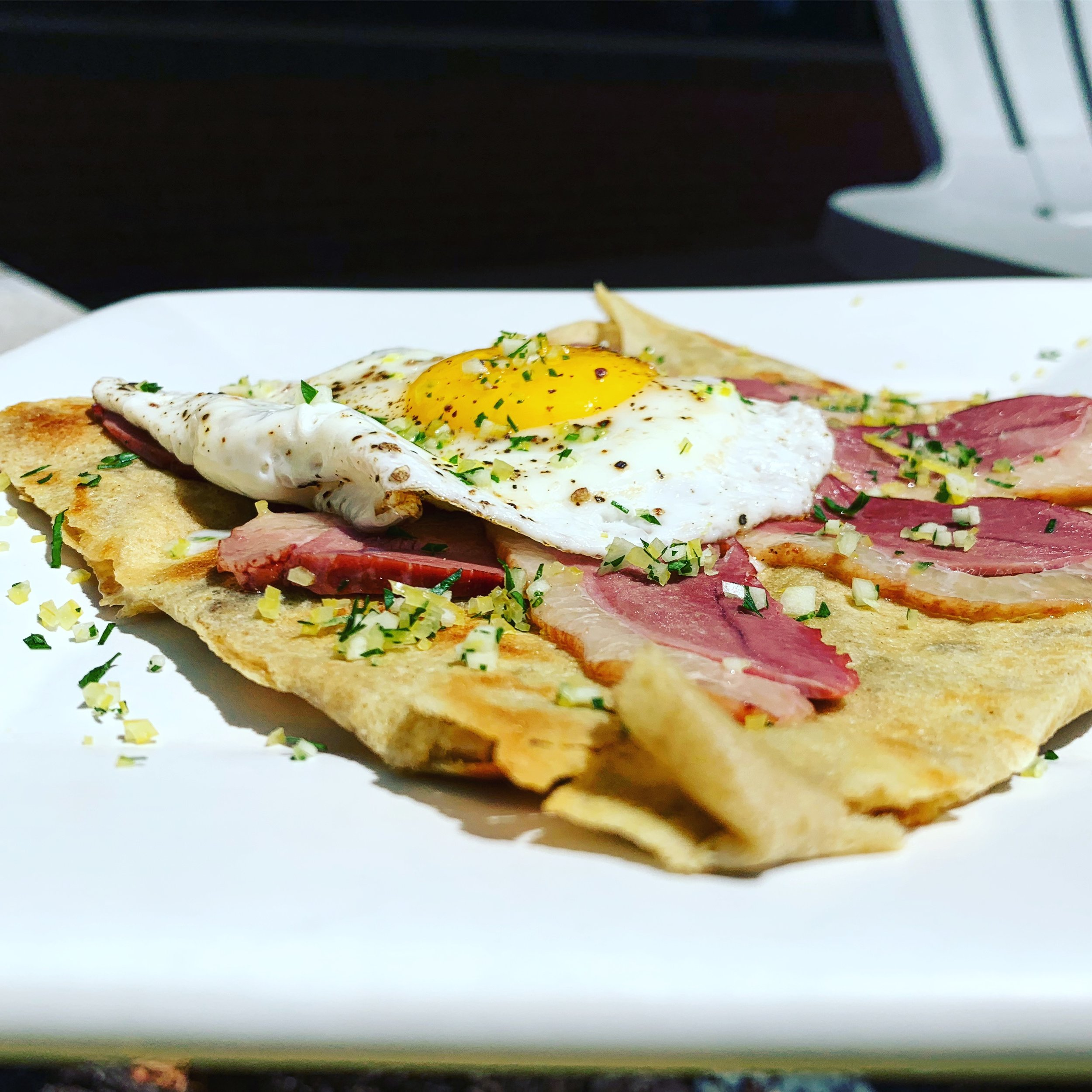 Smoked Duck Galette