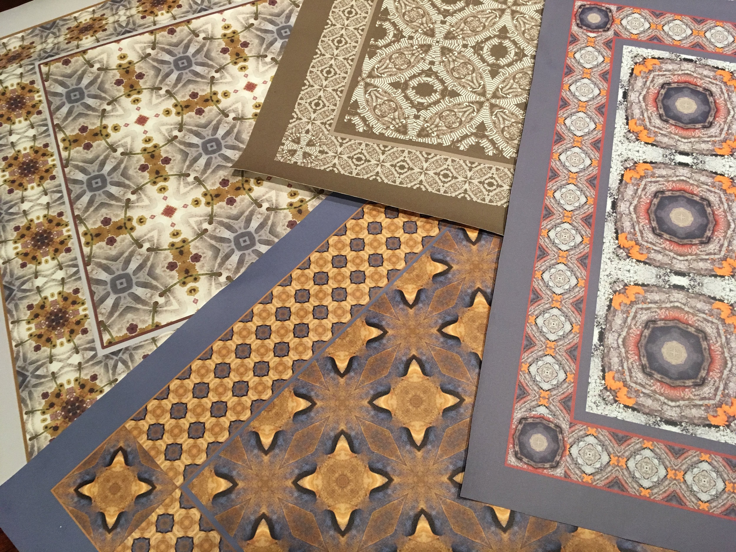 WinterPrint Custom-Made Floor Cloths   Printed on heavy weight canvas with nonslip backing. A selection of sizes & designs available, or custom-made with any WinterPrint design.