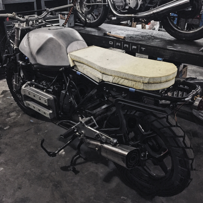Custom Motorcycle Seat Foam Carving_Moto-Mucci 4