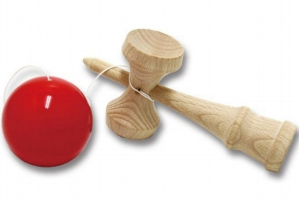 KENDAMA - Try your hand at the traditional wooden toy kendama with Kendama USA