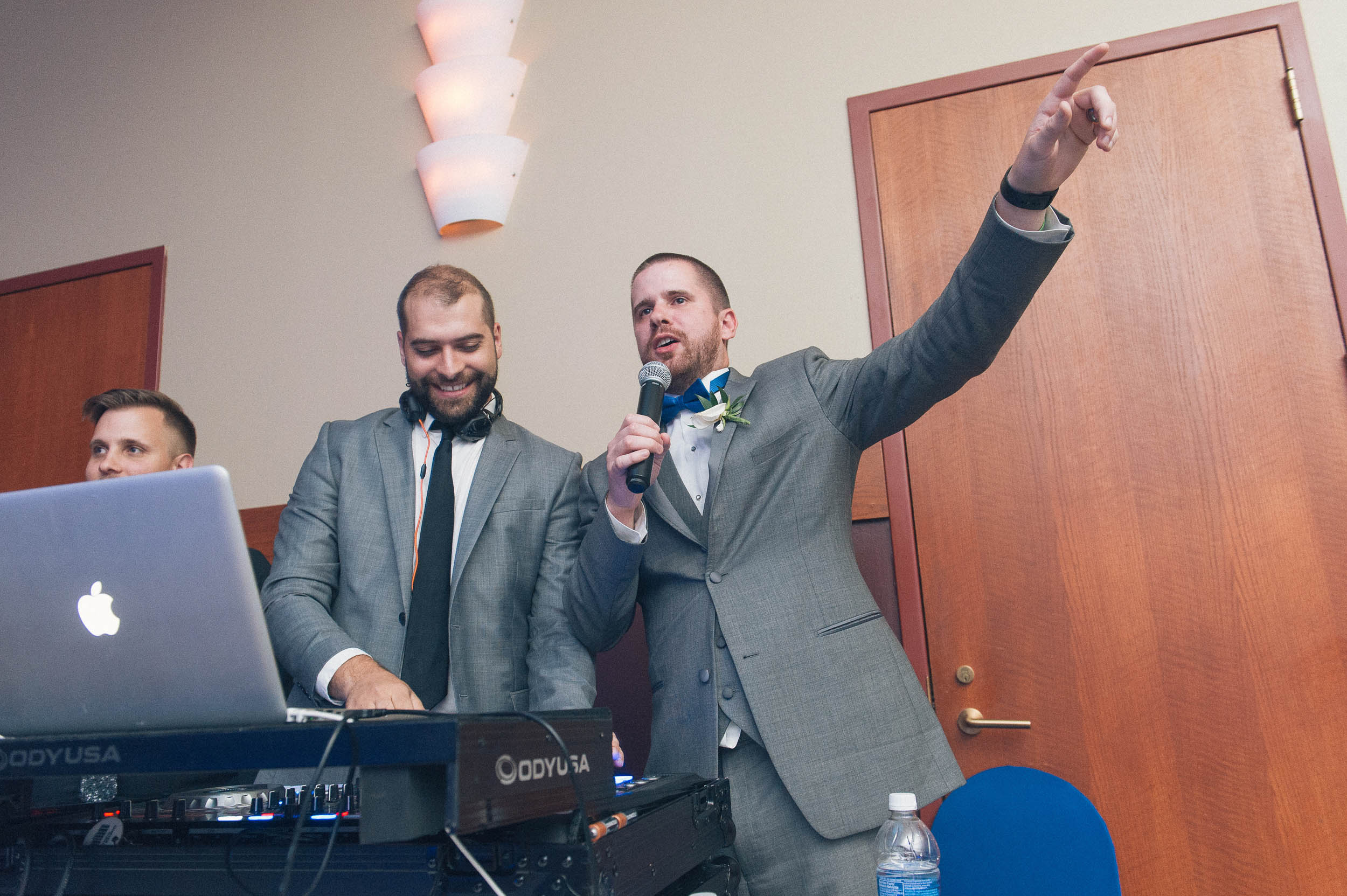 DJ - Music is what feelings sound like and your wedding should sound like you.