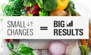 Small Changes= Big Results