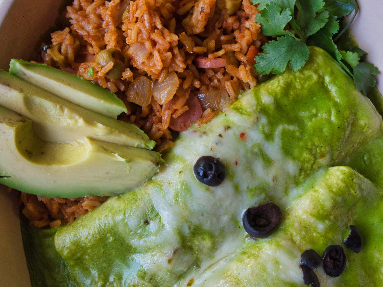 Enchiladas Especiales Tacuba Style