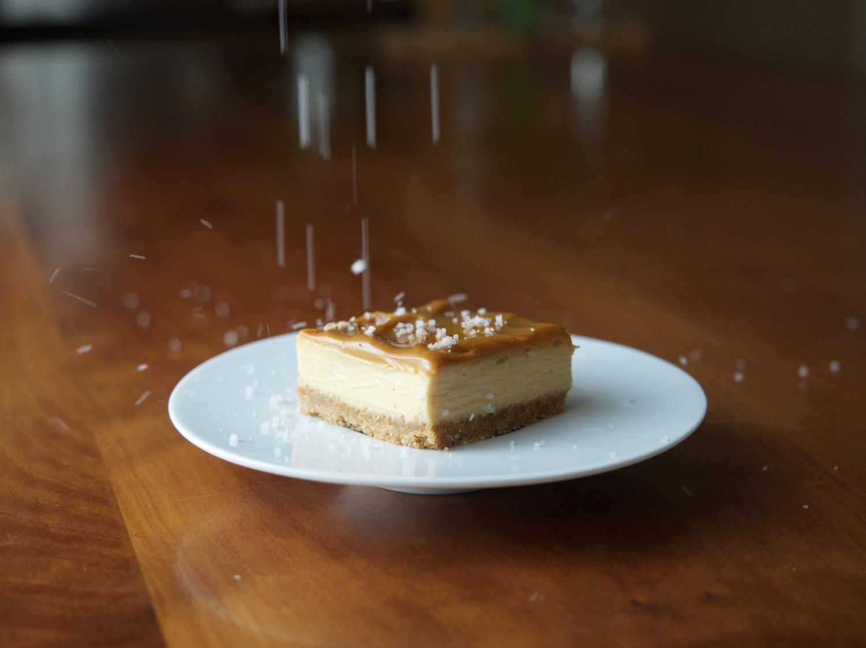 Dulce De Leche Cheesecake Squares
