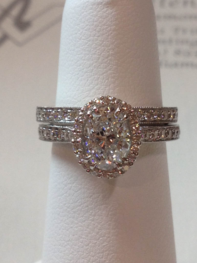 Copy of Diamond Wedding Set