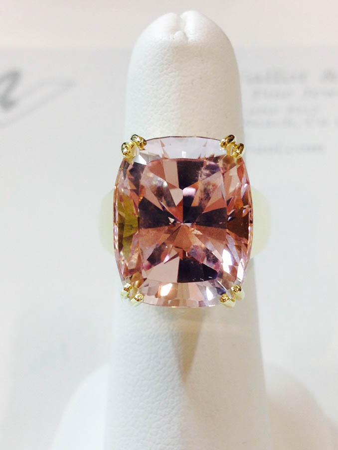 Copy of Morganite Ring