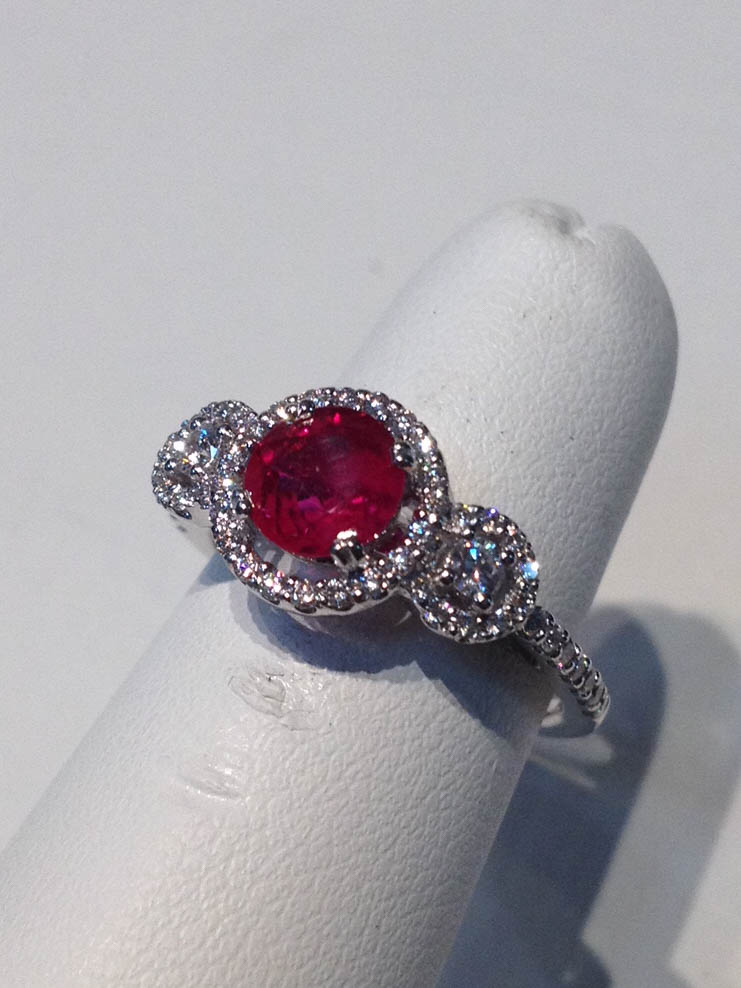 Copy of Ruby and Diamond Ring