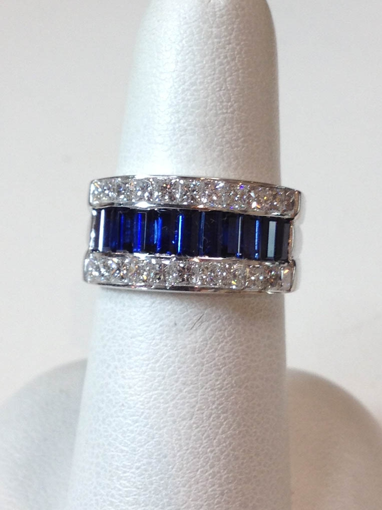 Copy of Sapphire and Diamond Ring