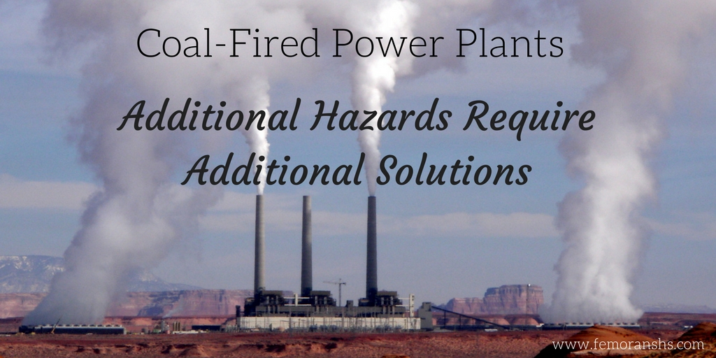 coal-fired power plant fire hazards