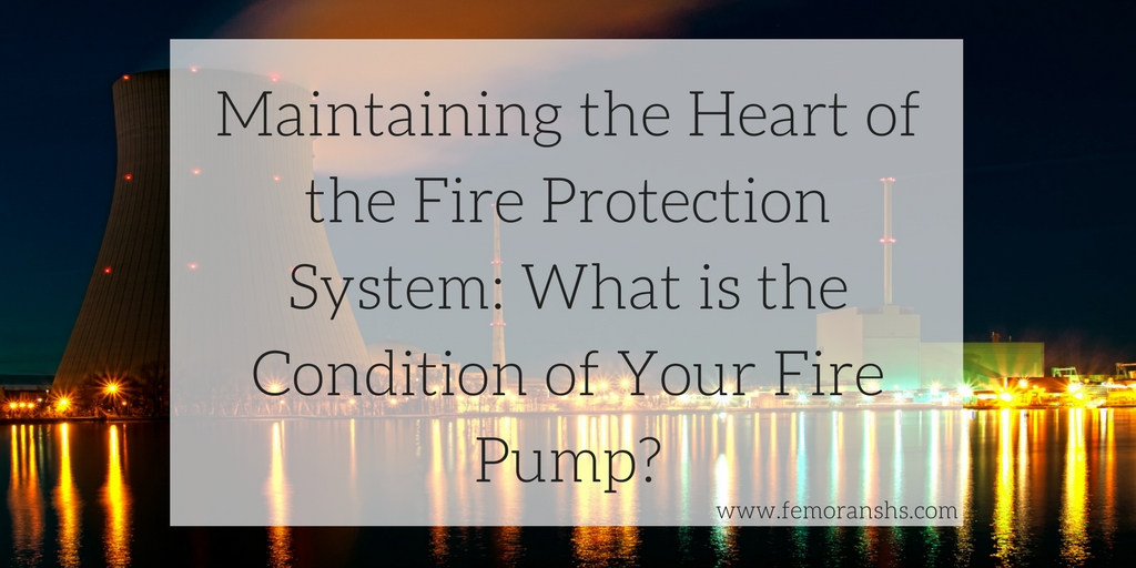 Maintaining the Heart of the Fire Protection System: What is the
