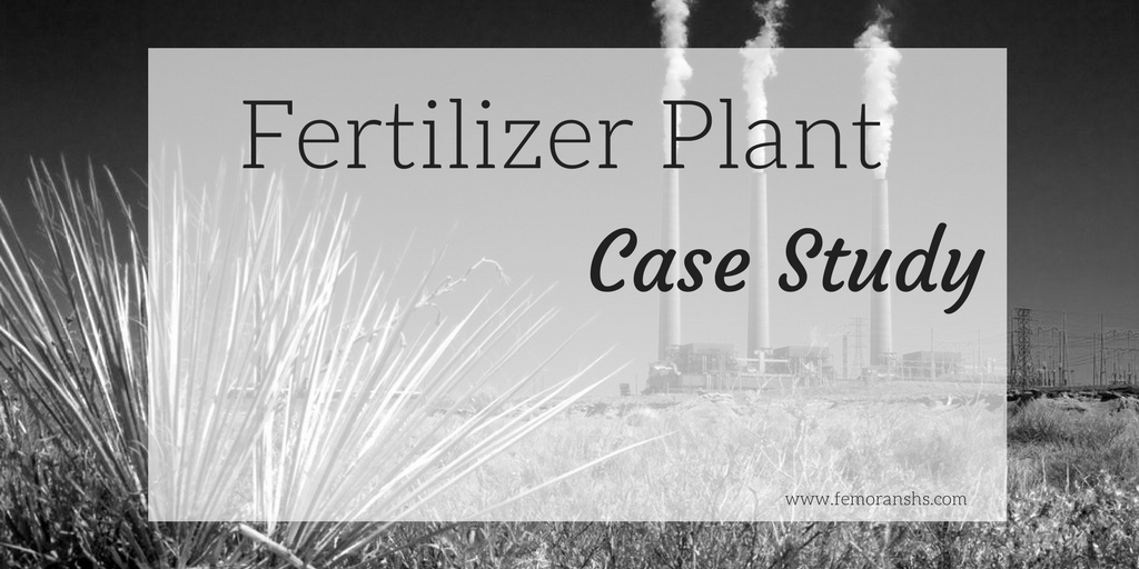 fertilizer plant fire protection