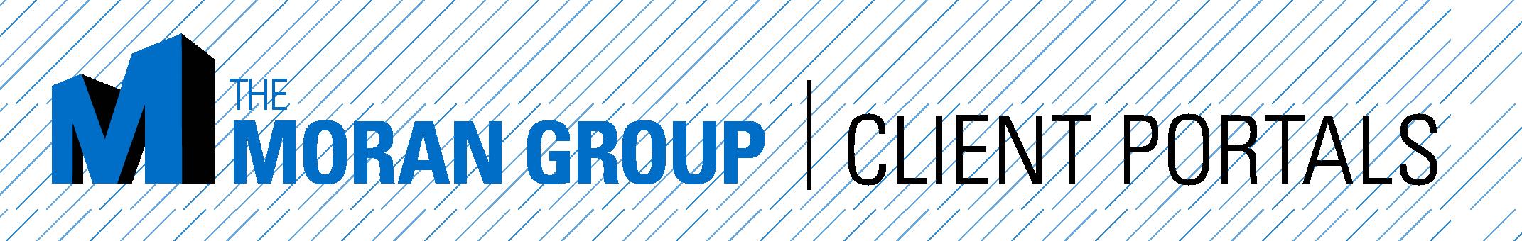 The Moran Group Client Portals Header
