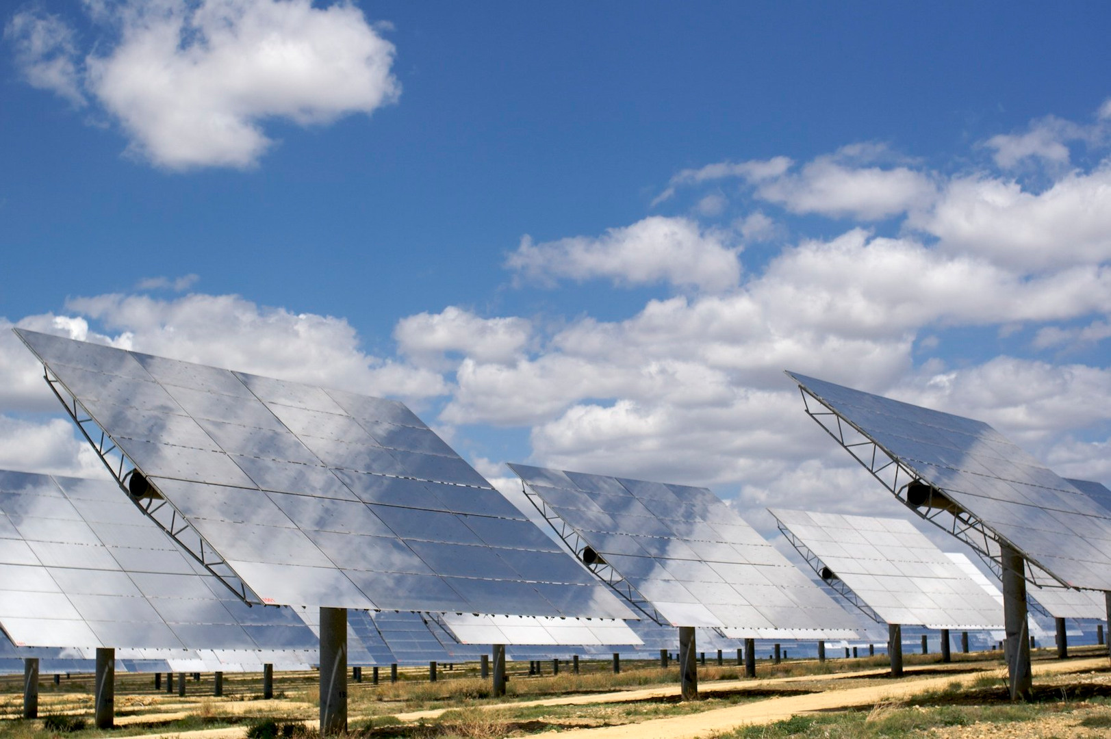 solar power plant fire protection