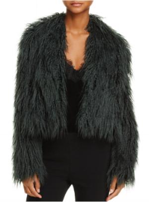 C/MEO Collective Enchanted Faux-Fur Coat at Bloomingdales
