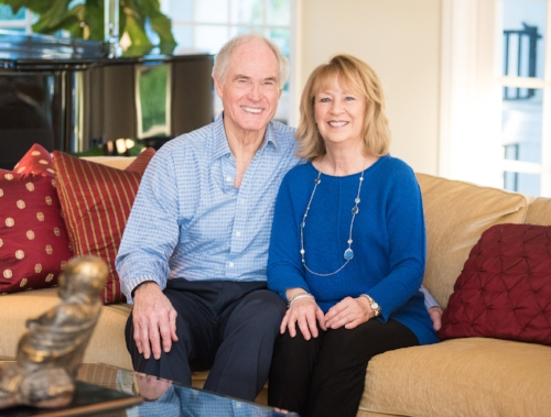Sam and Vivian Hardage, cofounders of the Vision of Children Foundation