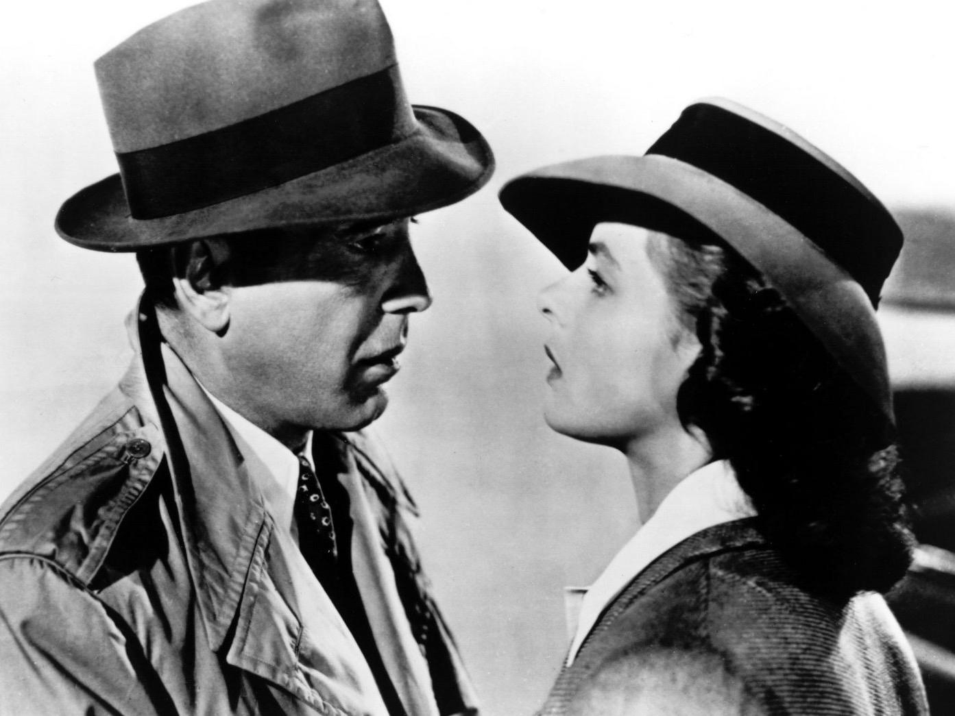 Casablanca   (1942); image courtesy of Warner Bros. from MovieStillsDB.com