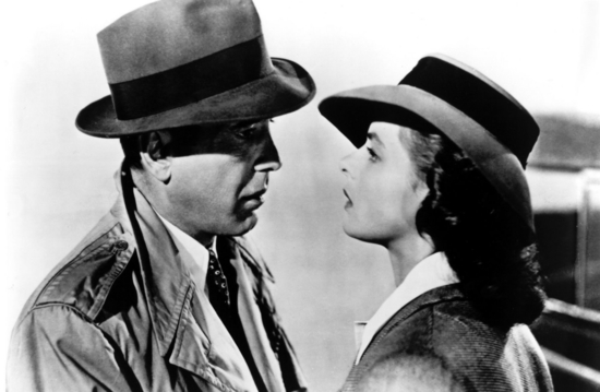 Casablanca  ; Image courtesy of Warner Bros. Pictures from MovieStillsDB.com