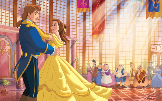 Beauty and the Beast   (1991); Image courtesy of Buena Vista Pictures from MovieStillsDB.com