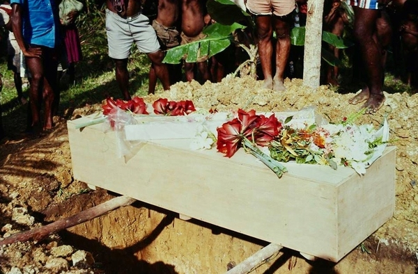 My Mother's Burial in Papua New Guinea