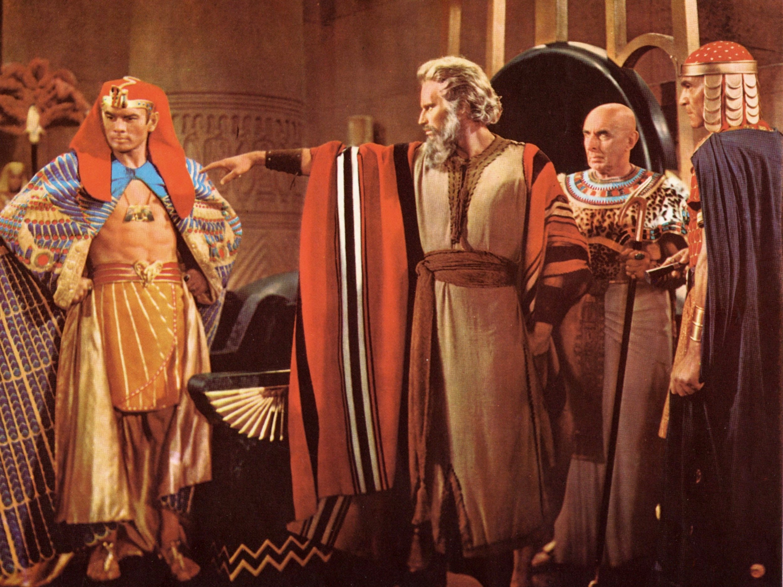 The Ten Commandments  , image courtesy of Paramount Pictures; from  Moviestillsdb.com .