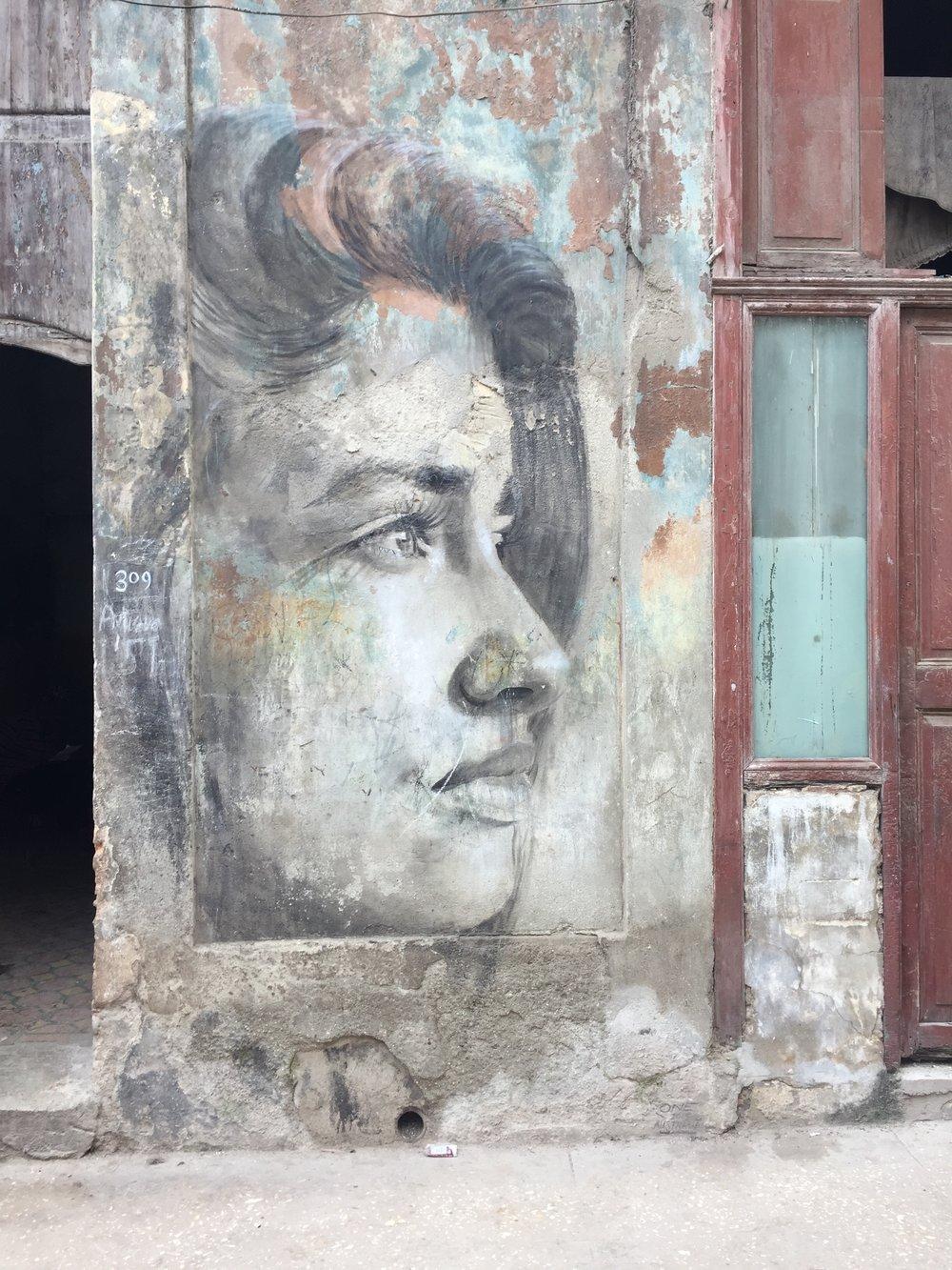 Street art photo by Jenny Rushmore