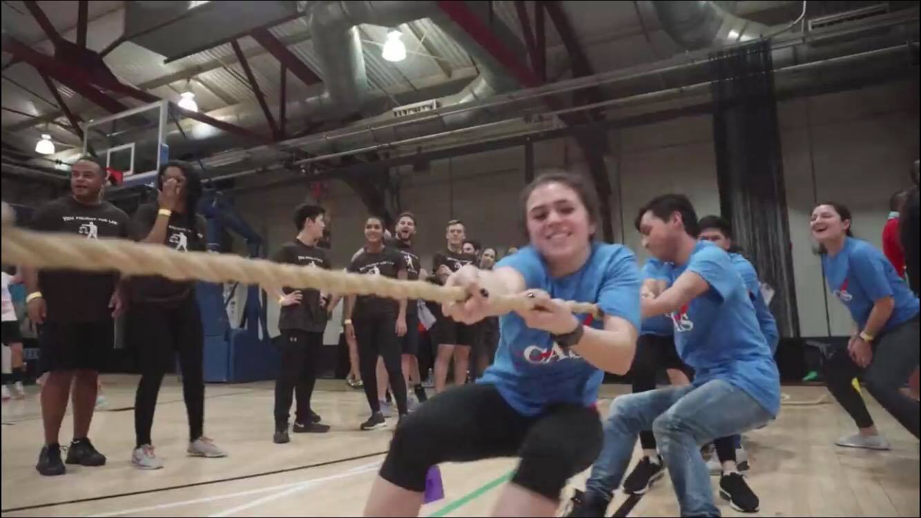 Nicole During Tug-of-War