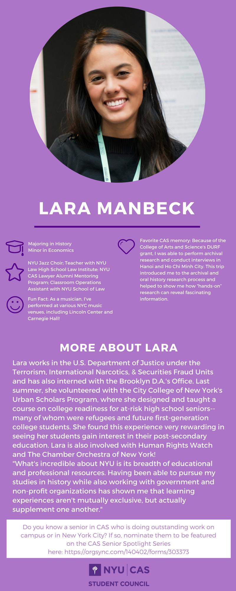 Lara Manbeck