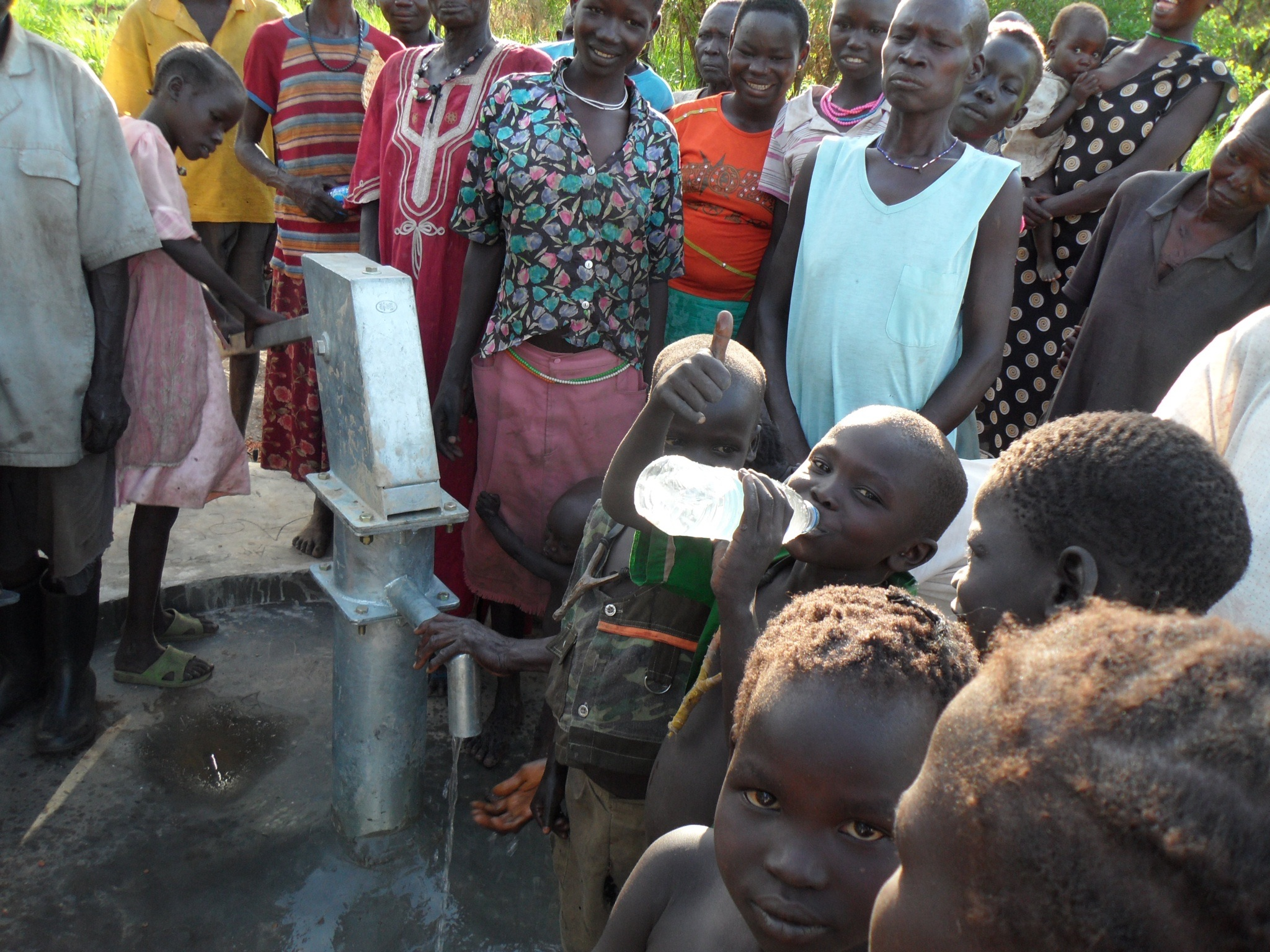 The Healing Kadi Foundation & Aqua-Africa Partnership   delivering clean treated water to the people of South Sudan   Clean Treated Water
