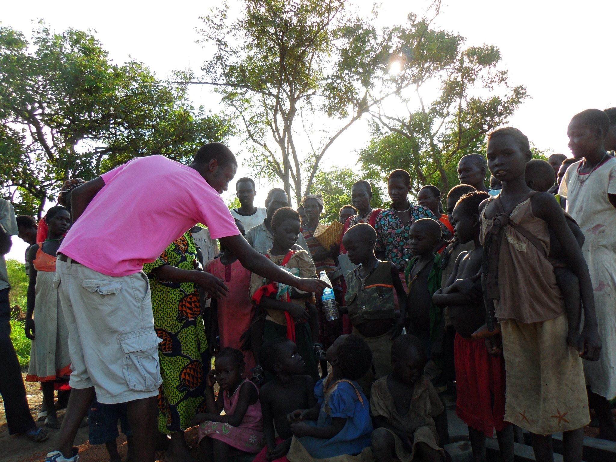 The Healing Kadi Foundation   providing sustainable health care to the people of South Sudan   Clean Treated Water