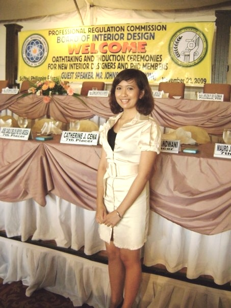 Day 1 - 2009 Interior Designers Oathtaking and Induction Ceremony. I was a 7th placer in the National Licensure Examination for Interior Designers. It feels like a lifetime ago.