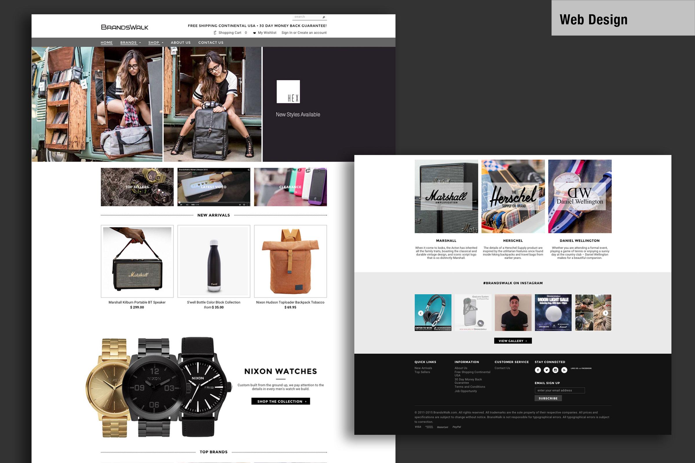 Project   Branding / Web Design   Media Assets   Website design and integration to Shopify