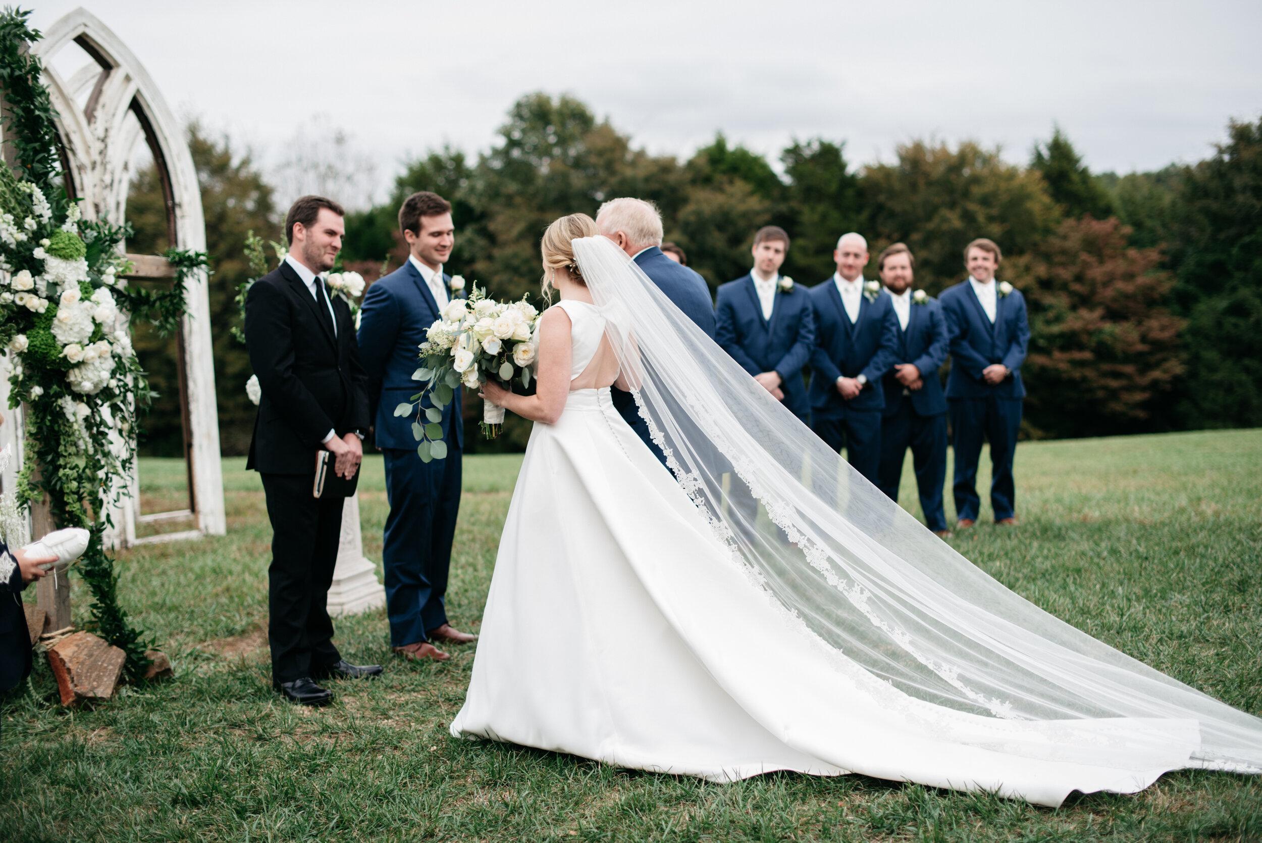 Wedding Cedars at Carr Farm