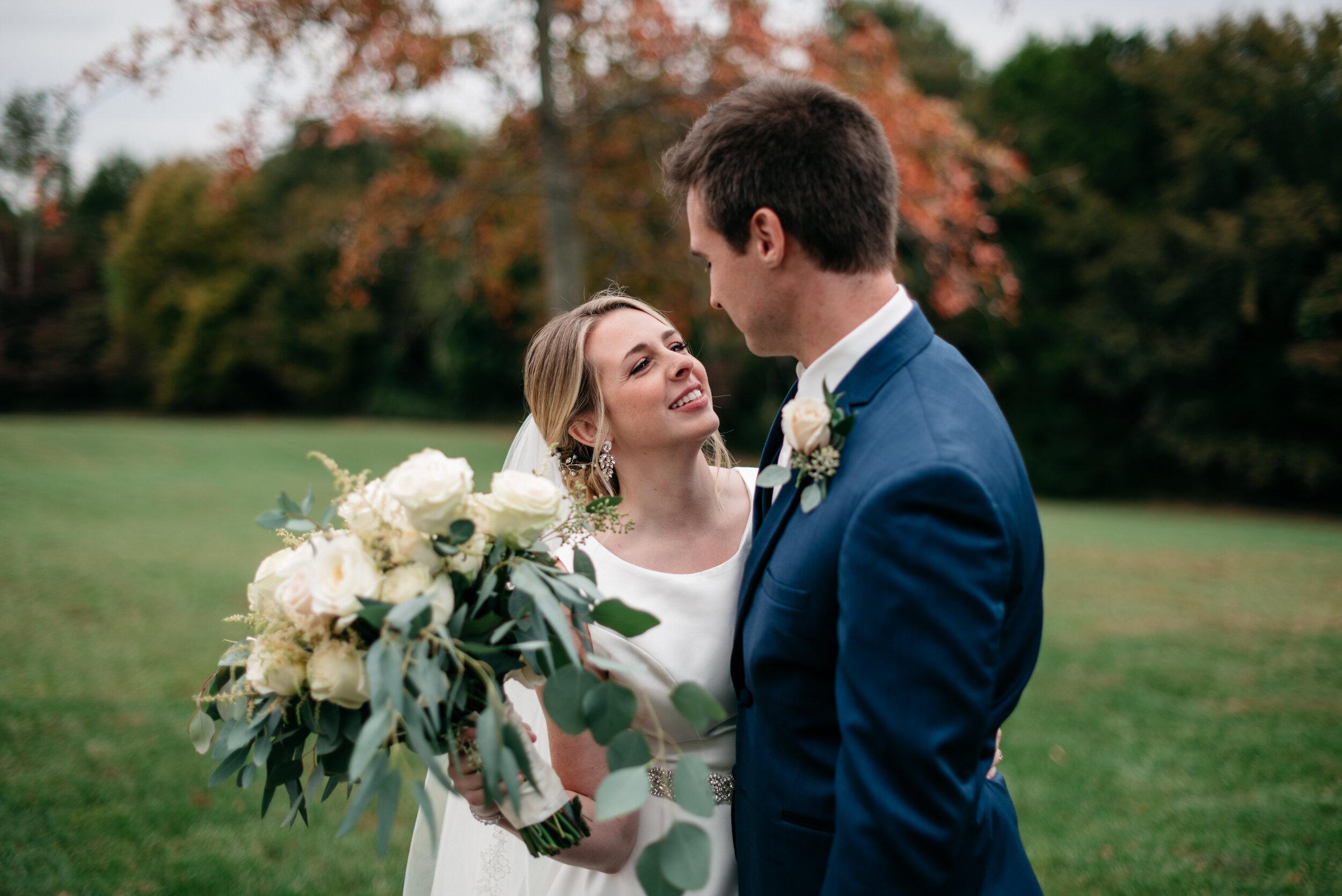Fall Wedding Cedars at Carr Farm