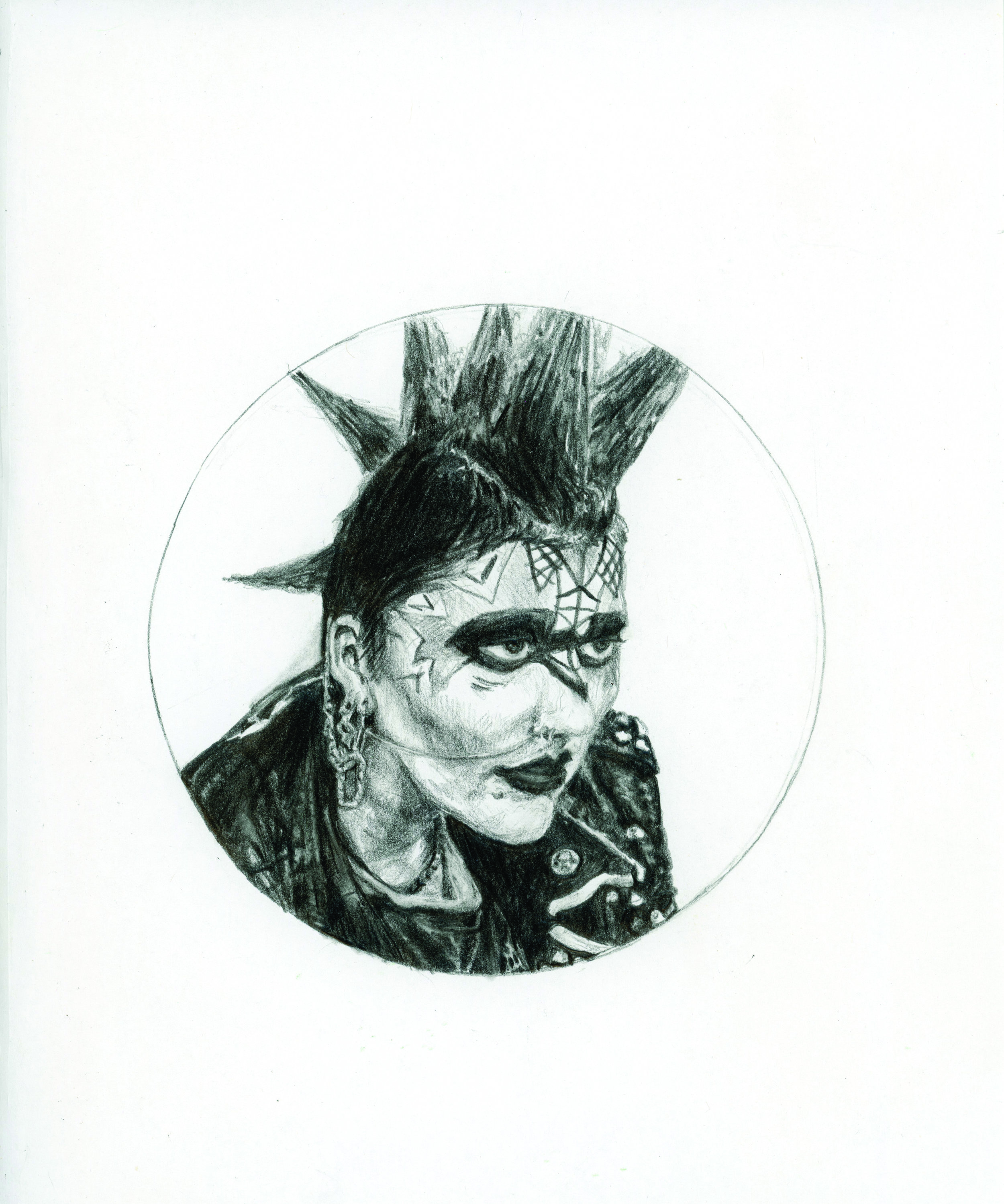 Punk Lady #2