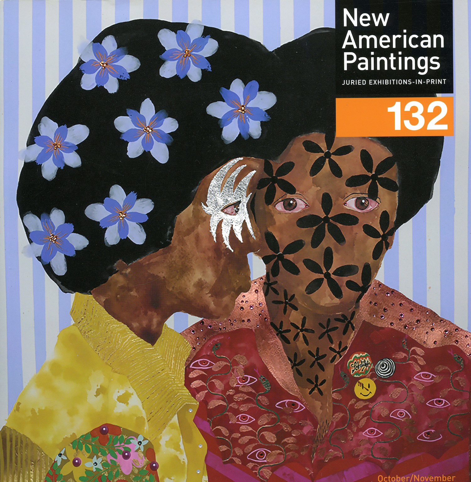 New American Paintings Cover Featuring work by Jasmine Zelaya.jpg