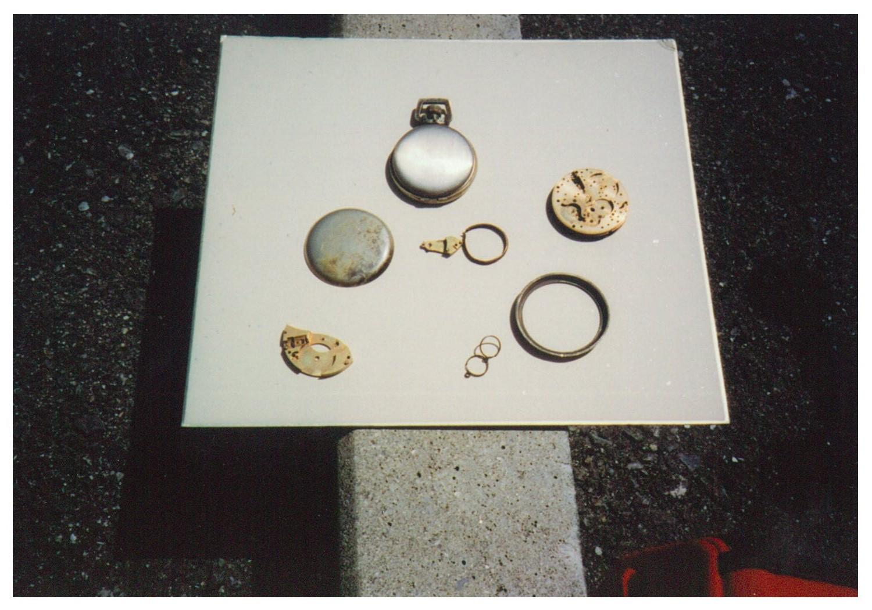 Watch found in Taloa wreckage.