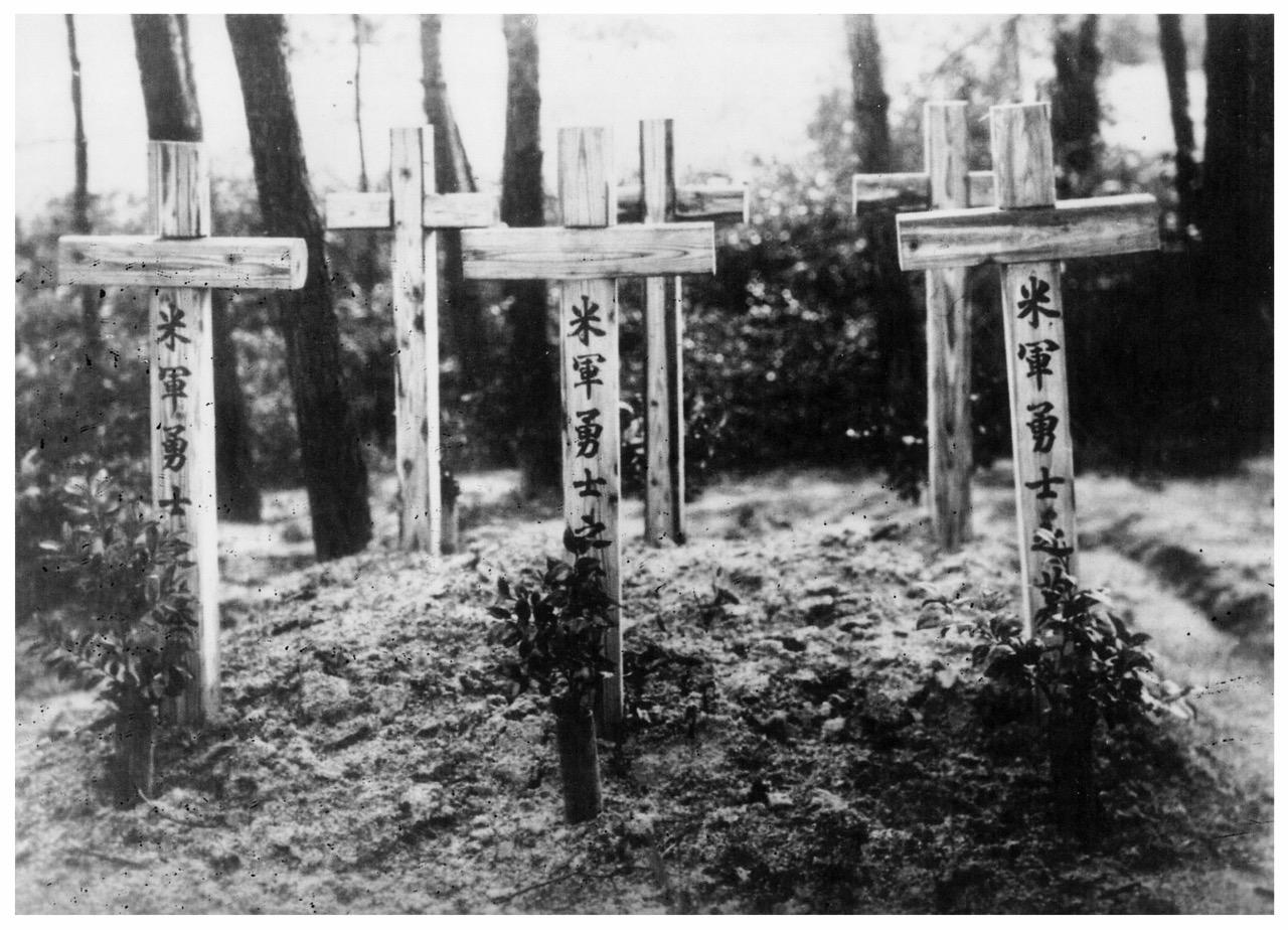 Graves of Taloa crew members.