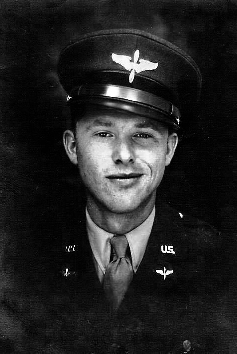 Lt. Emil Turek of Montgomery Minnesota, mission leader of the 866th Bomber Squadron.
