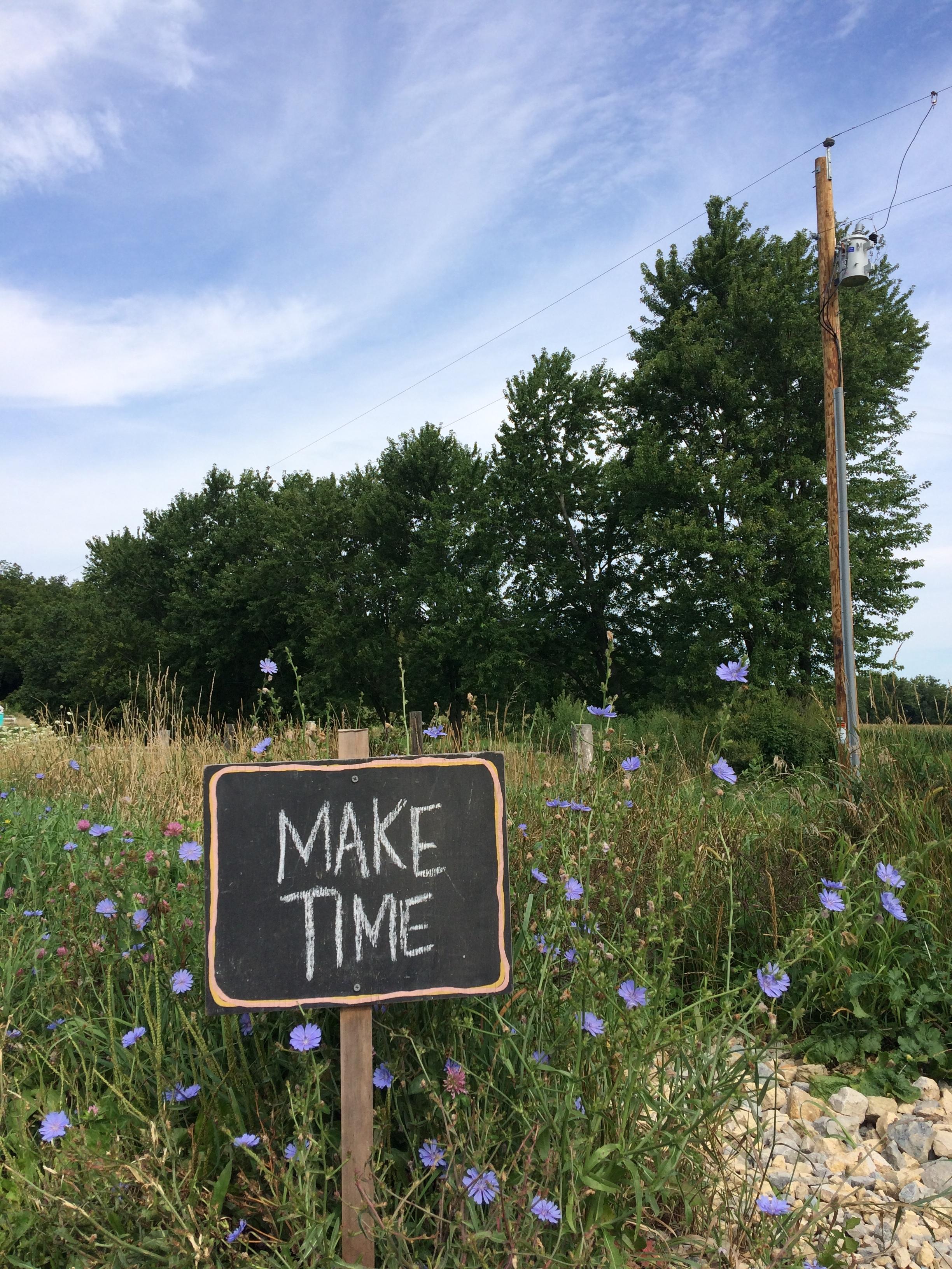 Make Time Welcome