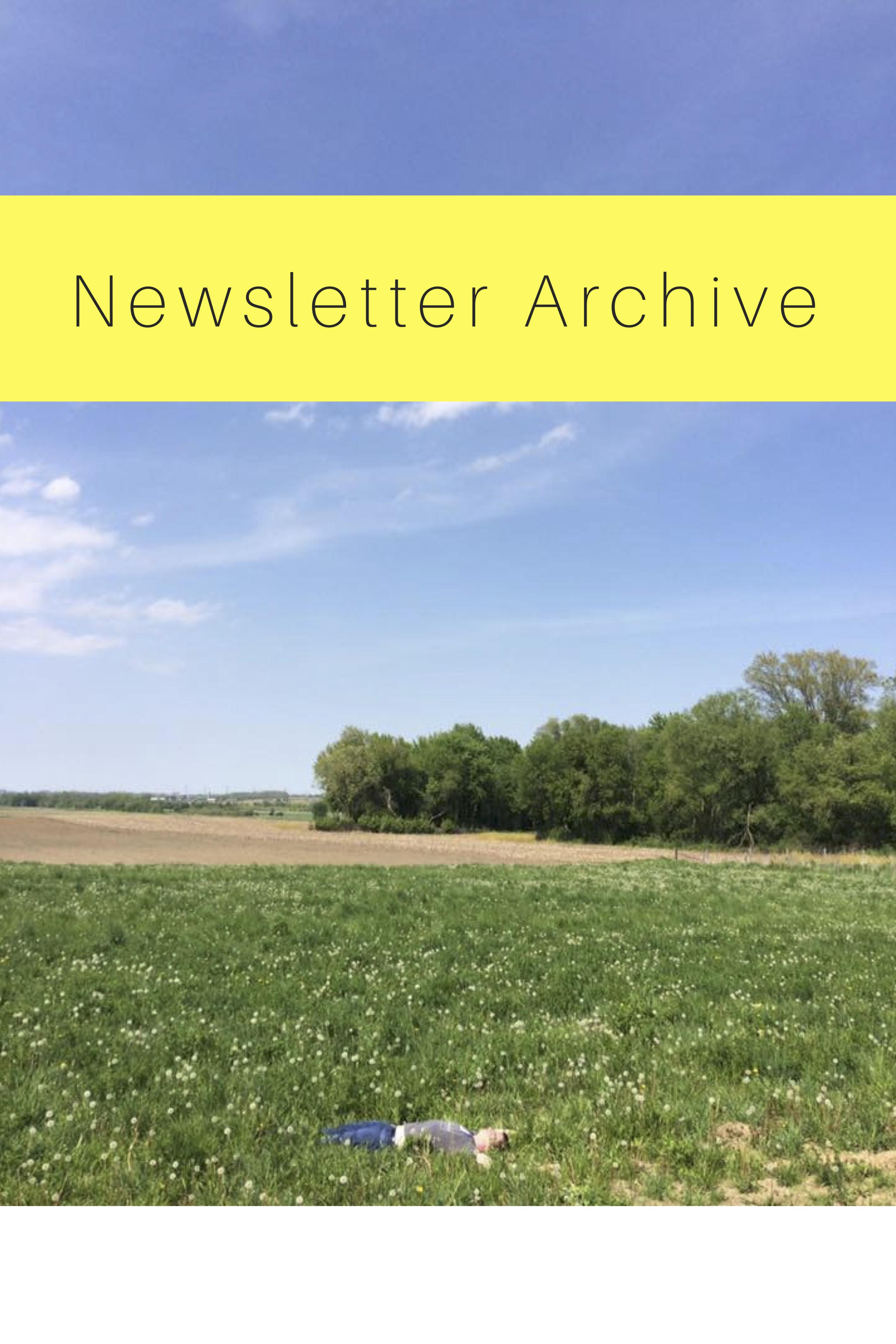 Make Time Newsletter Archive