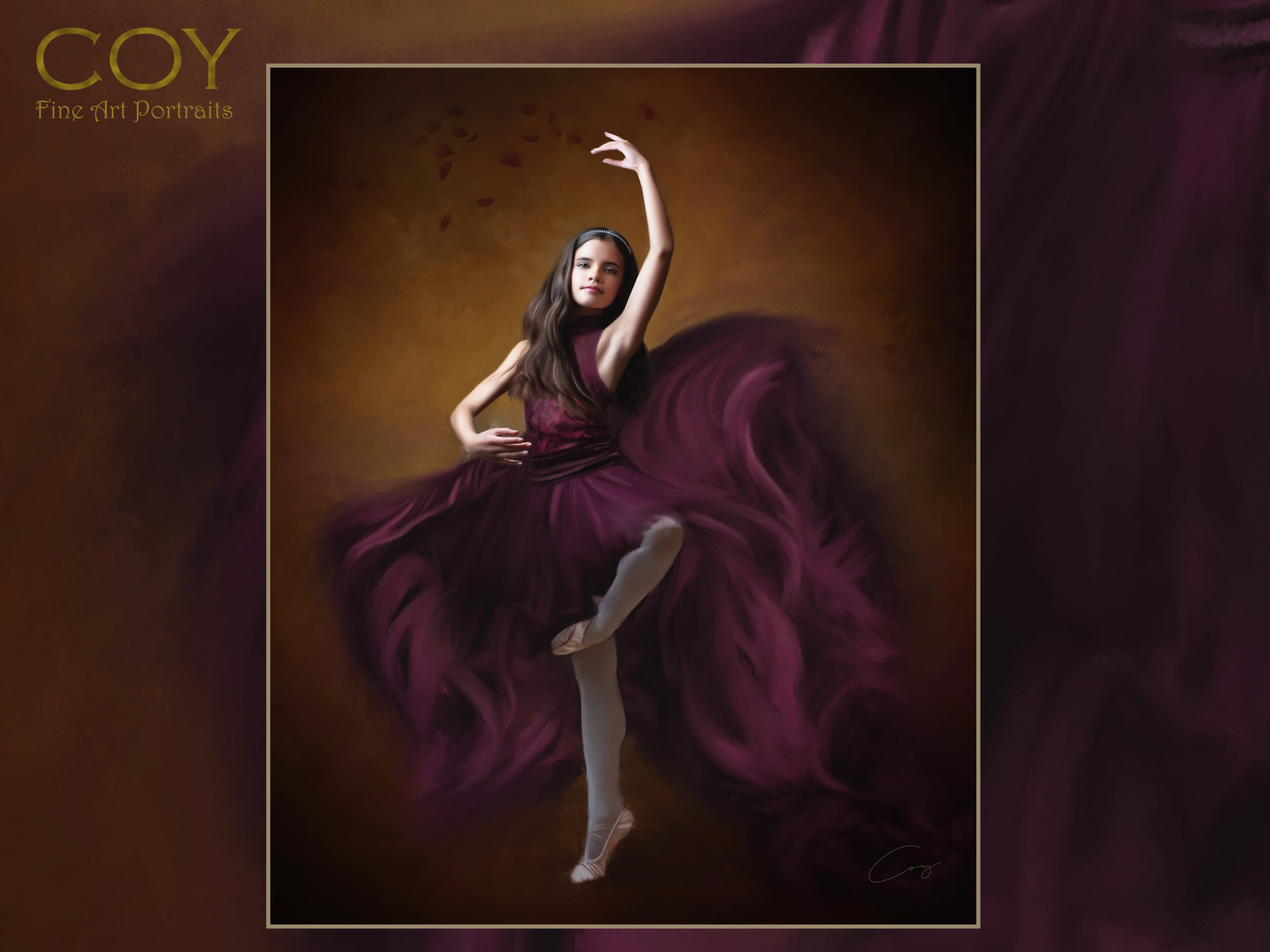 ballet-ballerina-portrait-painting-oil-rancho santa fe- san diego-la jolla-fairbanks ranch-inspired movement dance- 4s ranch.jpg