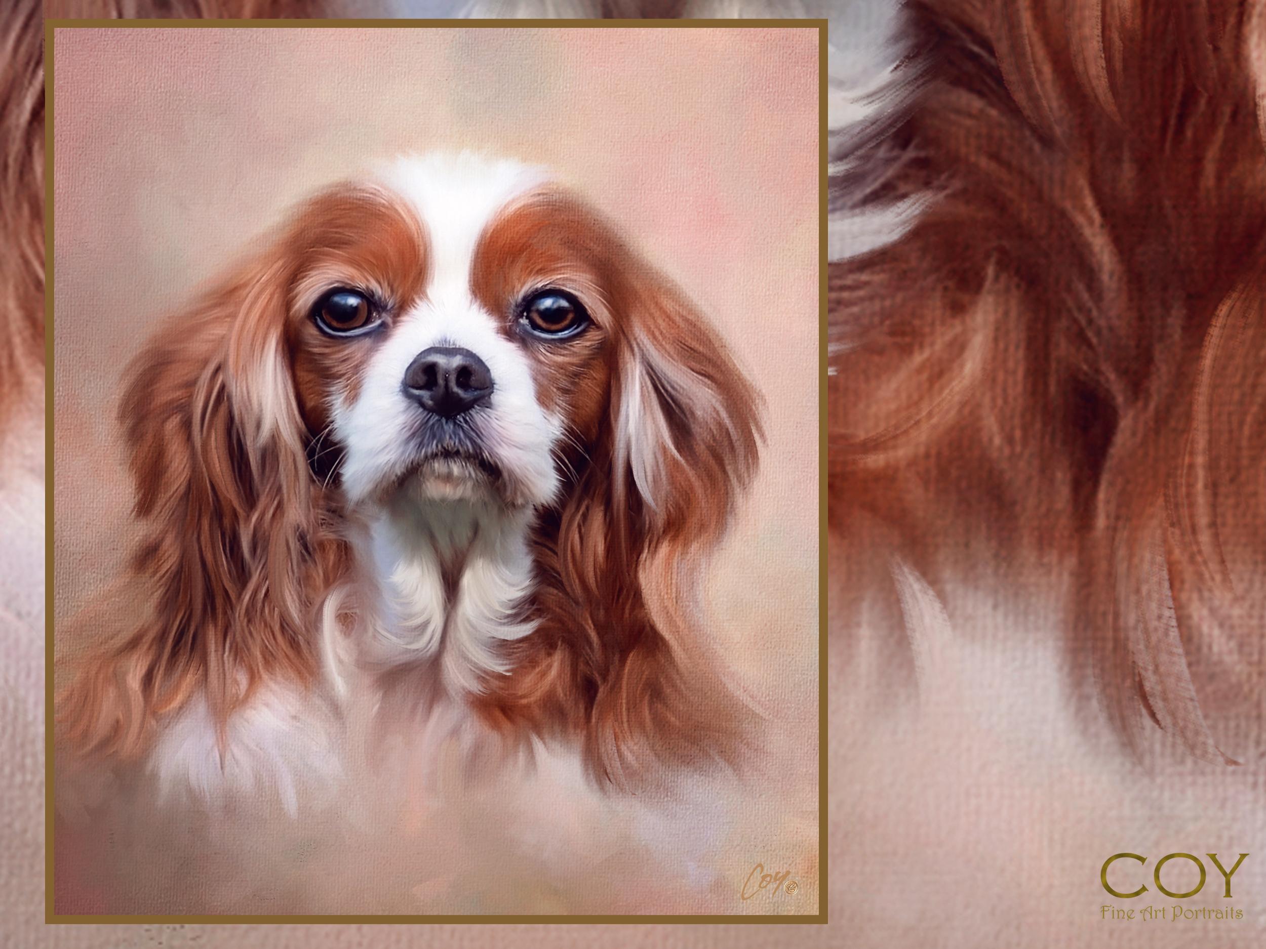 rancho santa fe-dog-pet-photographer-painting-cavalier-puppy-puppies-sale-terrier-fairbanks ranch.jpg