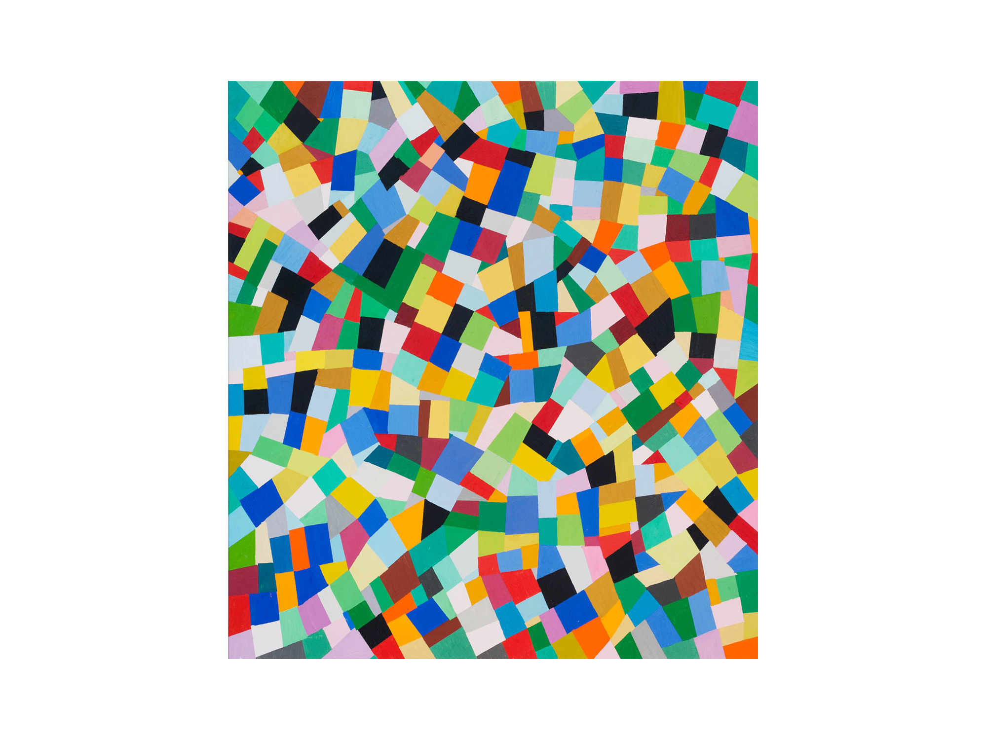 Melinda Harper    Untitled , 2016 oil on canvas 122 x 112cm   ARTIST BIO