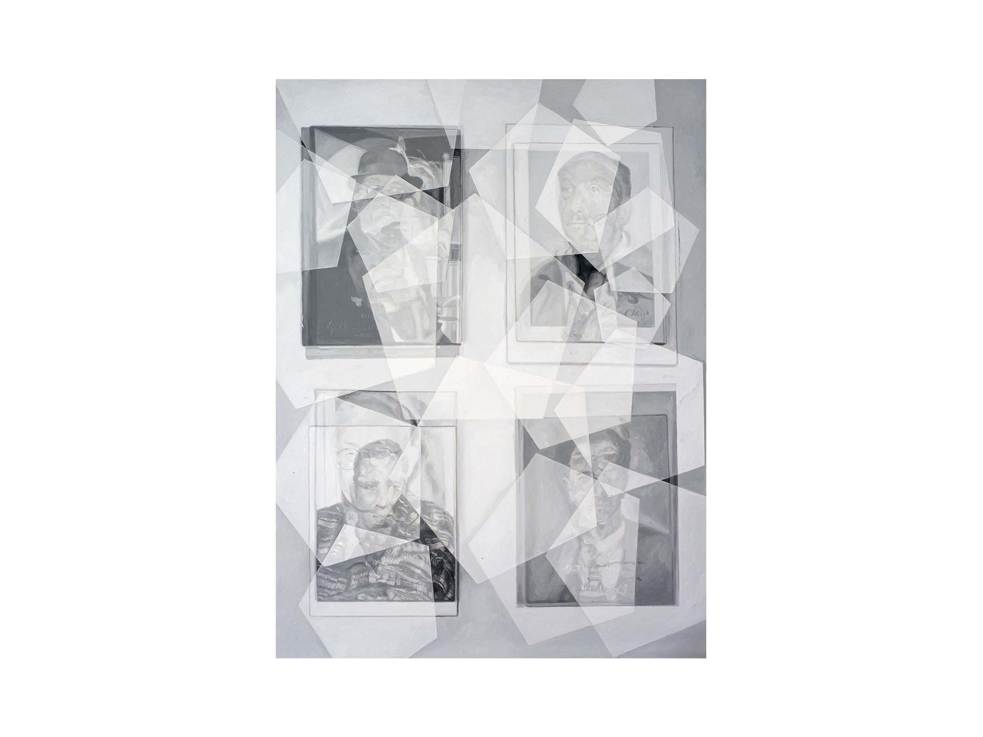 Julie Fragar    Look for All of Us Together , 2016 oil on board 137 x 102cm   ARTIST BIO