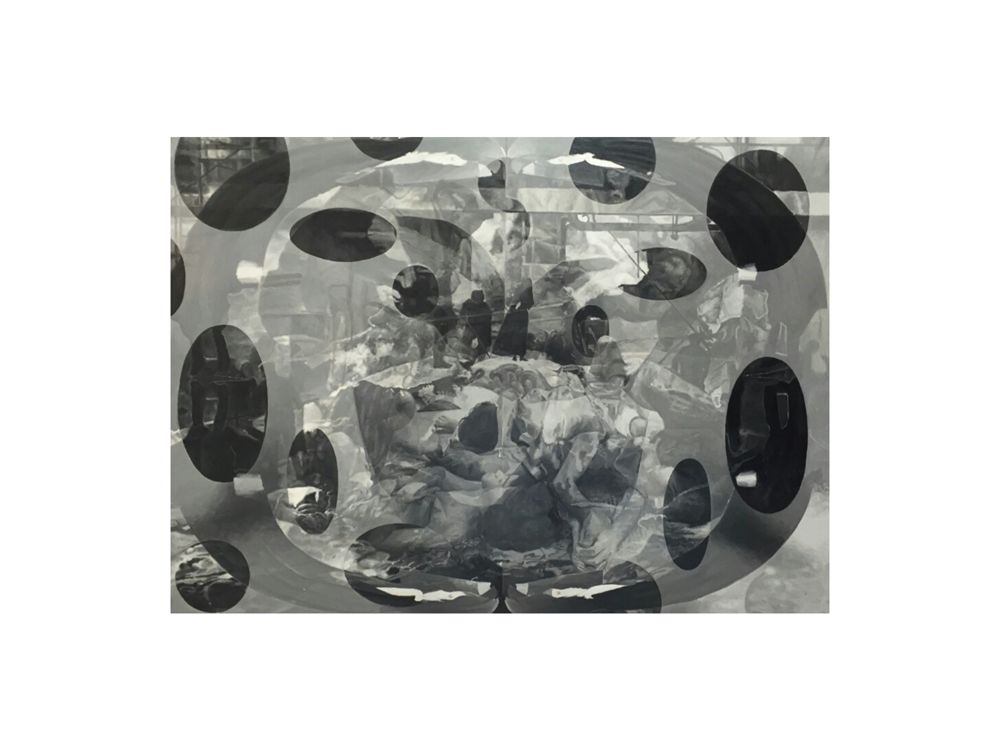 Julie Fragar    The Whaling II , 2016 oil on board 102 x 137cm   ARTIST BIO