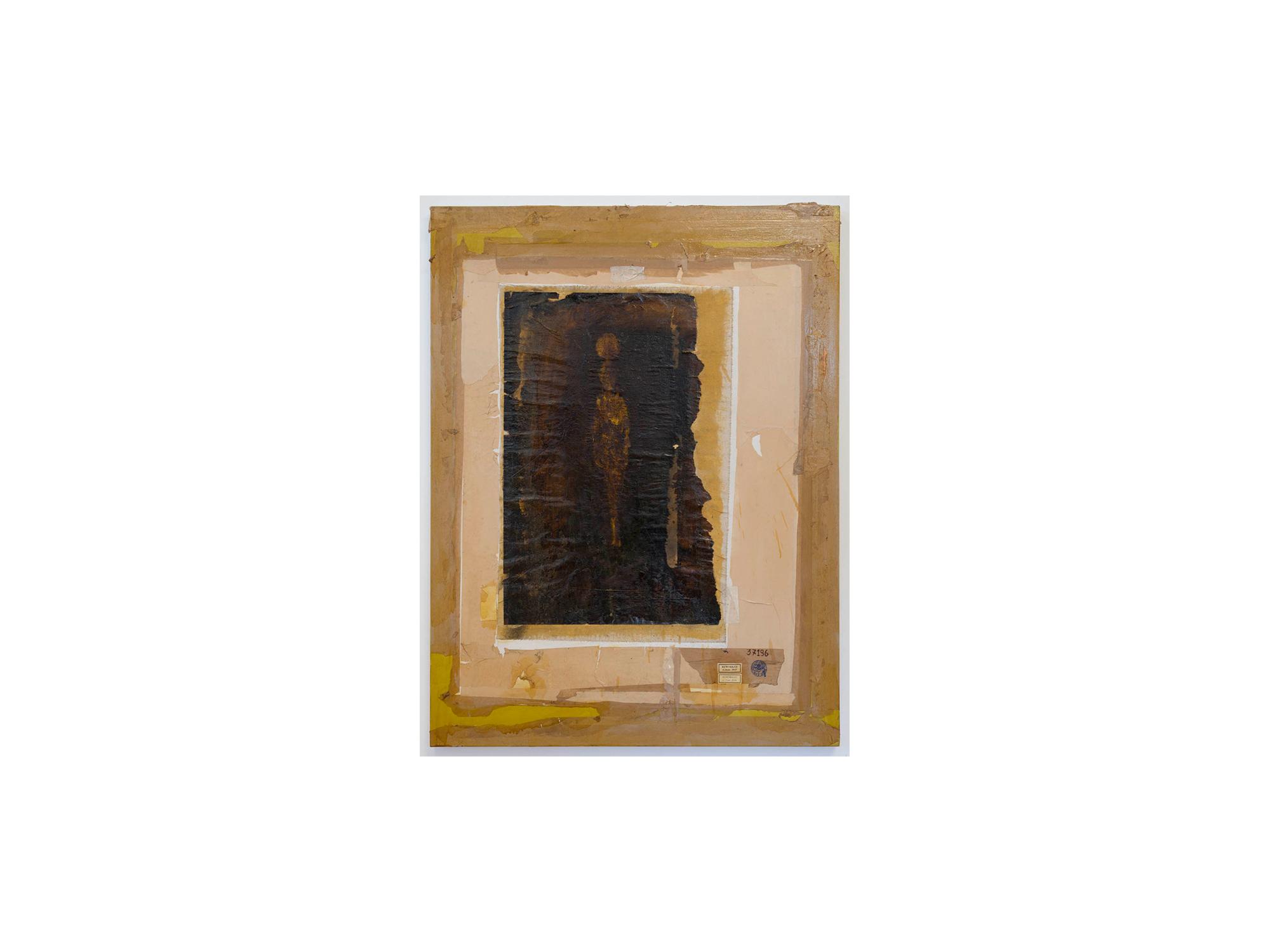 Bernhard Sachs   Apostasis (Oratario Faust) , 2016 mixed media on paper on cotton 122 x 91cm   ARTIST BIO