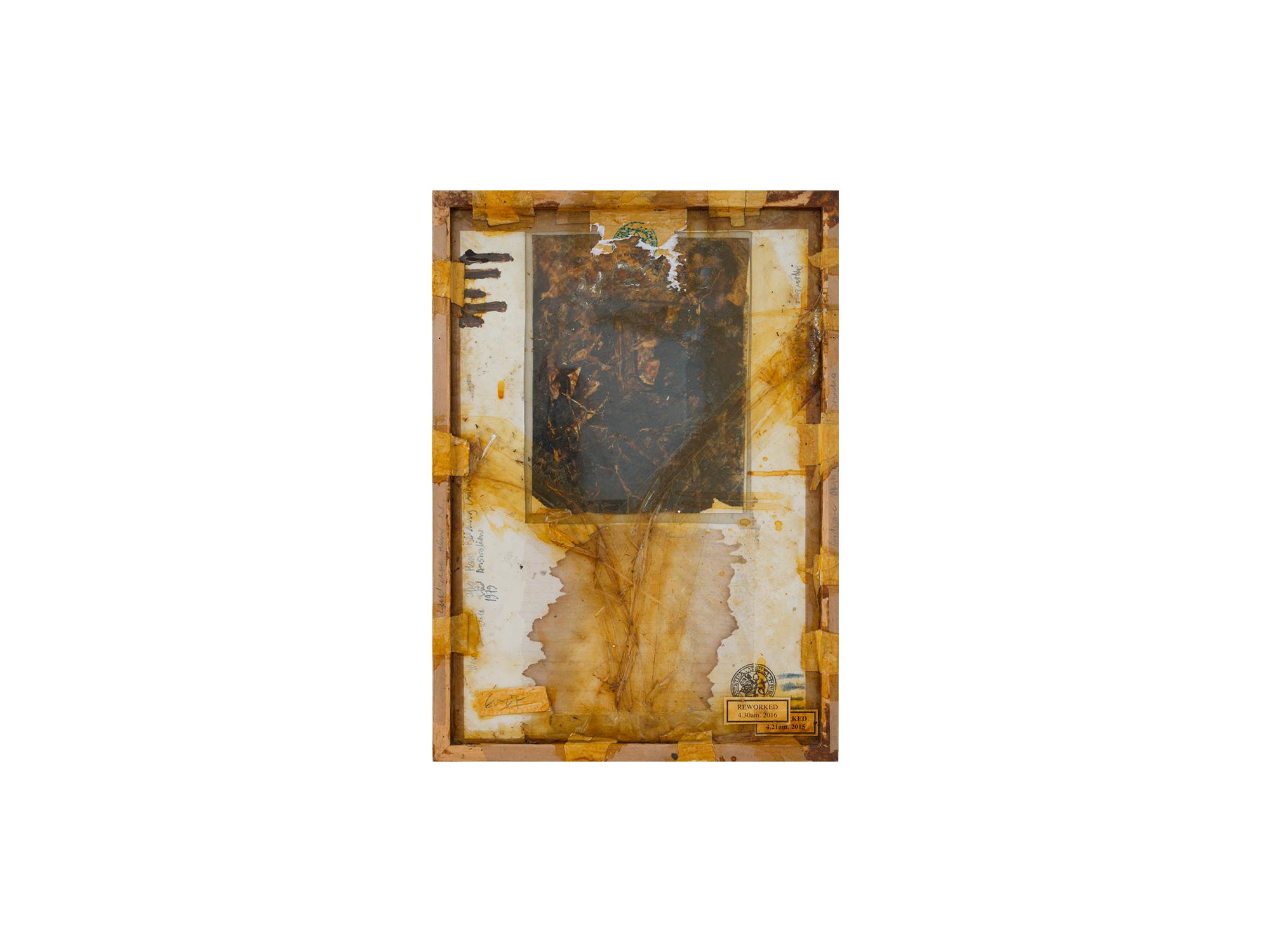 Bernard Sachs   Weather Witches (After Hans Baldung Grien) , 2016 mixed media on card 46 x 33cm  ARTIST BIO