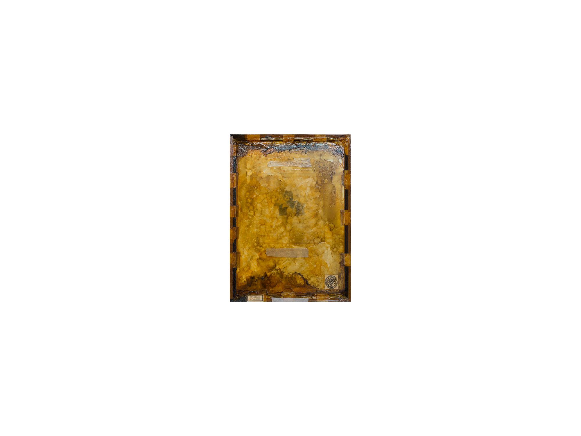Bernard Sachs   Perpetual Motion (Portrait of Heinrich Anton Muller) , 2016 mixed media on framed paper 65 x 44cm   ARTIST BIO