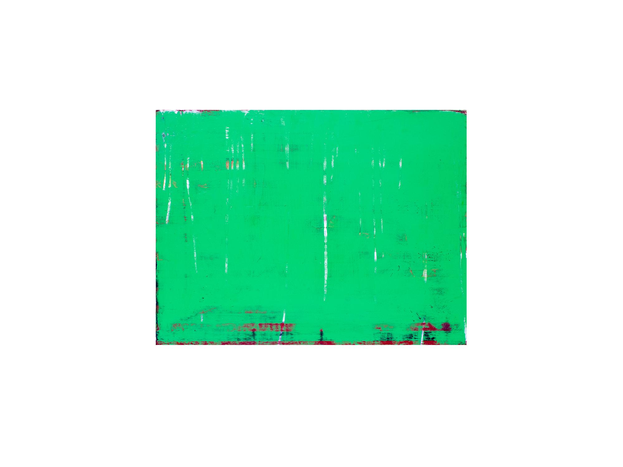 Brett McMahon   KL City 3 , 2017 acrylic and enamel on ply panel 60 x 80cm   ARTIST BIO